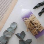 樺樹皮キャンドル